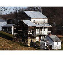 Derelict Farmhouse Photographic Print