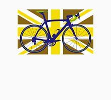 Bike Flag United Kingdom (Gold) (Big - Highlight) T-Shirt