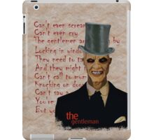 The gentleman! iPad Case/Skin