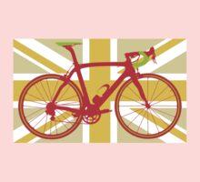 Bike Flag United Kingdom (Yellow) (Big - Highlight) One Piece - Long Sleeve