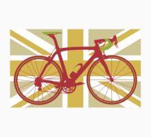 Bike Flag United Kingdom (Yellow) (Big - Highlight) by sher00