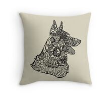 German_Shepard Throw Pillow