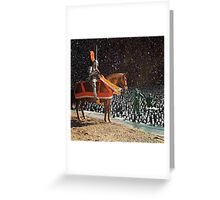 KNIGHT & DIVERS Greeting Card