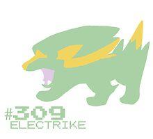 ELECTRIKE! POKEMON by Caroline Finnerty