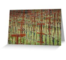 Empty Vines Greeting Card