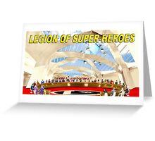 Legion of Super-Heroes Gathering Greeting Card