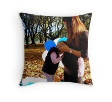 I Can Hear His Heartbeat Mum!! - CHC NZ Throw Pillow