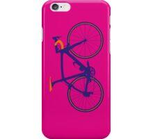 Bike Pop Art (Purple & Orange) iPhone Case/Skin