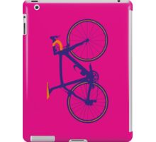 Bike Pop Art (Purple & Orange) iPad Case/Skin