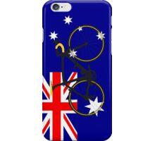 Bike Flag Australia (Big - Highlight) iPhone Case/Skin