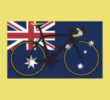 Bike Flag Australia (Big - Highlight) Kids Clothes