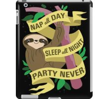 Sloth Philosophy iPad Case/Skin