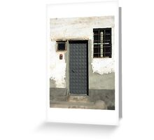 Door 92 Geometric Greeting Card