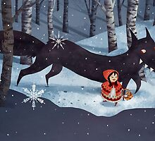Little Red Riding Hood and the Wolf by katiecrumpton
