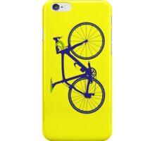 Bike Pop Art (Purple & Green) iPhone Case/Skin