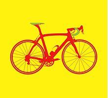 Bike Pop Art (Red & Green) by sher00