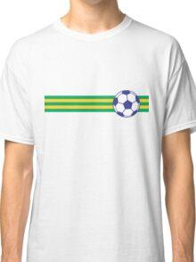 Football Stripes Brazil Classic T-Shirt