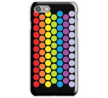 Polka Dot Rainbow (Vertical) iPhone Case/Skin