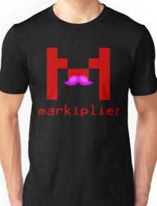 Markiplier Logo With Pink Mustache! Unisex T-Shirt