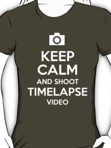 Keep Calm Timelapse T-Shirt