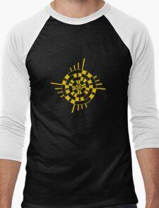 Mandala 1 Yellow Fever  Men's Baseball ¾ T-Shirt