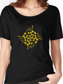 Mandala 1 Yellow Fever  Women's Relaxed Fit T-Shirt