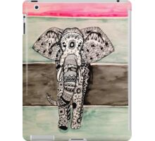 Elephant Tribal Zentangle iPad Case/Skin