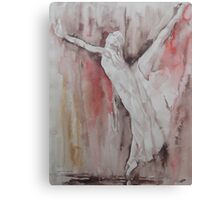 The Balance - Ballet Painting - Dance Art Gallery Canvas Print