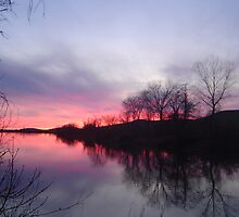 Evening Reflections by Jerry Stewart