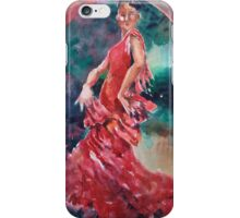 Flamenco Dancer - Dance Art Gallery 9 iPhone Case/Skin