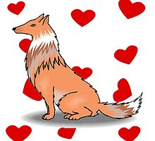 Collie Love by kwg2200