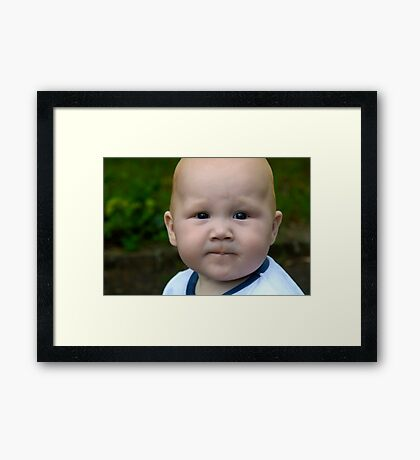 Thinker Framed Print