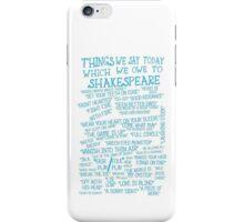 Things We Say... iPhone Case/Skin