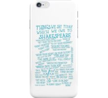 Things We Say... iPhone Case/Skin