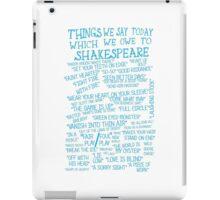 Things We Say... iPad Case/Skin