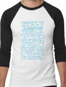 Things We Say... Men's Baseball ¾ T-Shirt