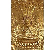 bodhi tree buddha Photographic Print