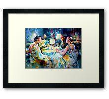 Meeting Friends - Art Gallery 48 Framed Print