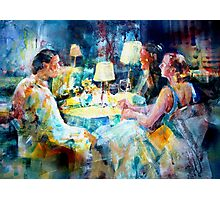 Meeting Friends - Art Gallery 48 Photographic Print