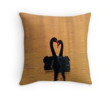 Swan Lake - Throw Cushion Throw Pillow