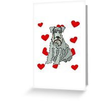 Kerry Blue Terrier Love Greeting Card