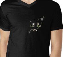 cat checkers 3 Mens V-Neck T-Shirt