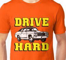 MUSCLE CAR-DRIVE HARD Unisex T-Shirt