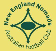 Nomads logo green Kids Tee