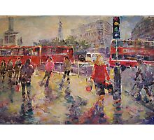 Lively London - London Art Gallery Photographic Print