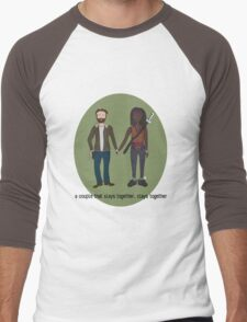 A Couple That Slays Together (Richonne) Men's Baseball ¾ T-Shirt
