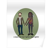 A Couple That Slays Together (Richonne) Poster