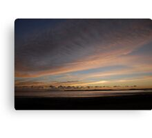 Dawn Sky Across the Water Canvas Print