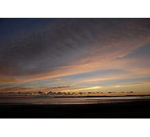 Dawn Sky Across the Water Photographic Print