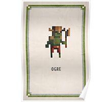Pixel RPG - Ogre Poster